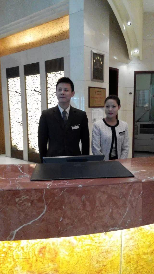 酒店制服定制 苏州新城花园酒店