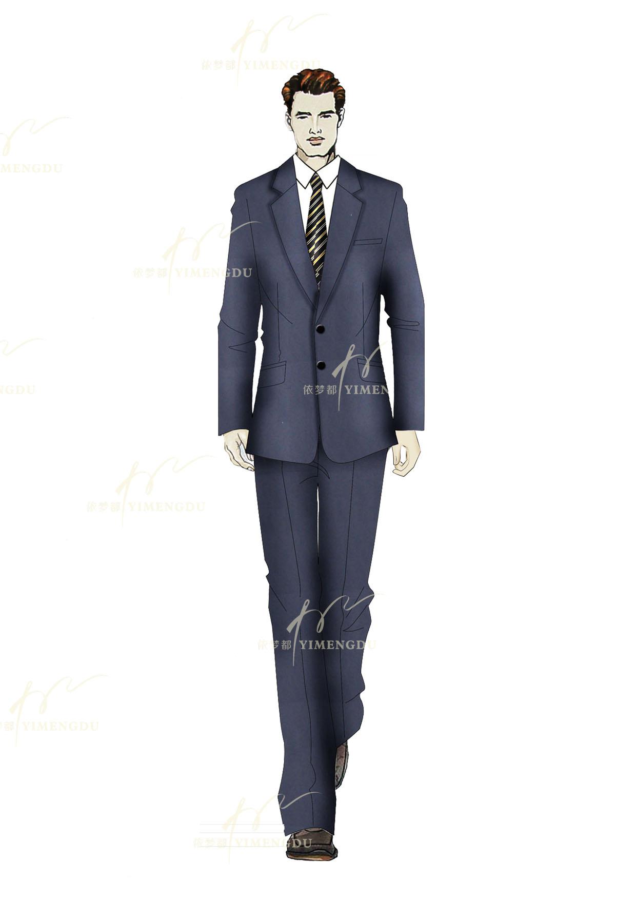 职业装-男西服