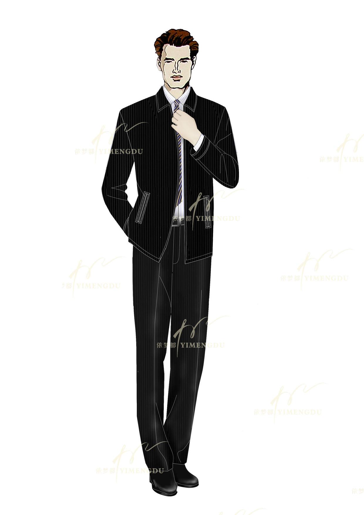 职业装-商务夹克