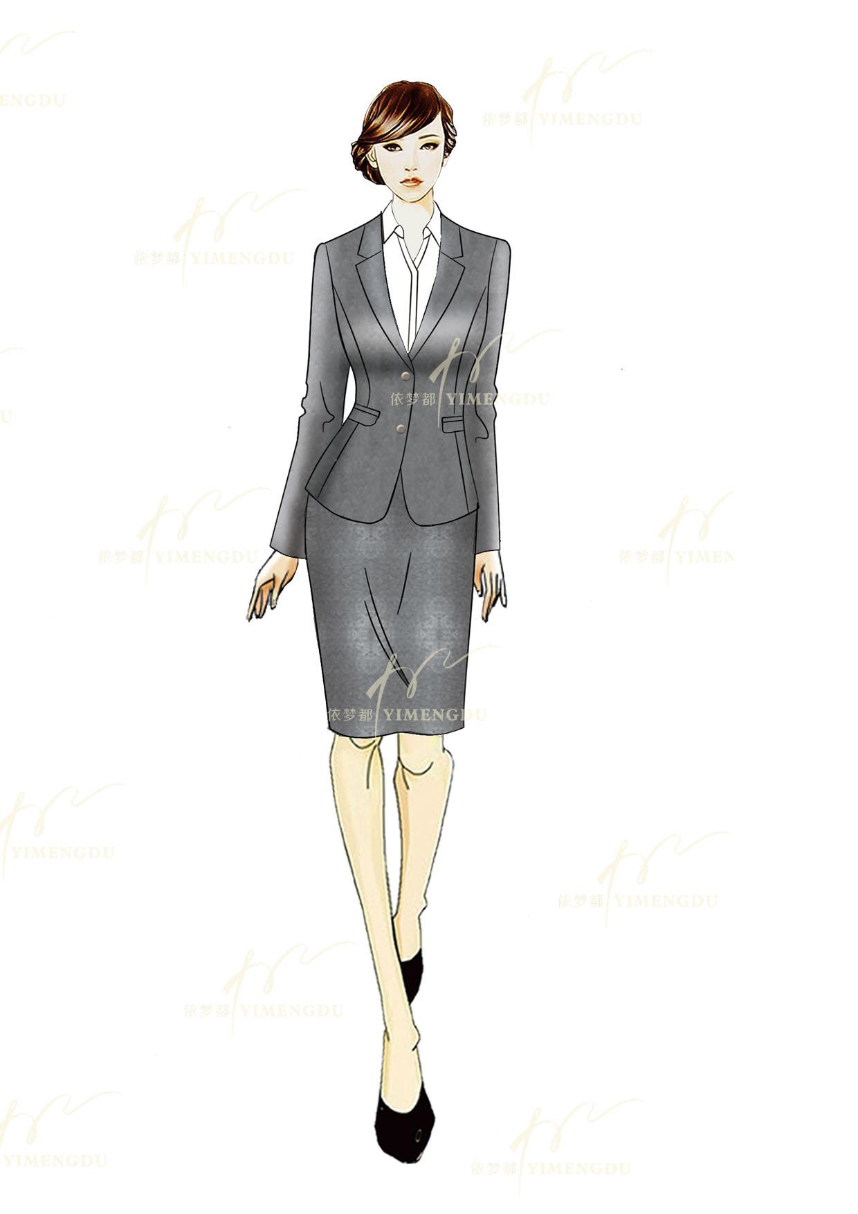 职业装-女士套装