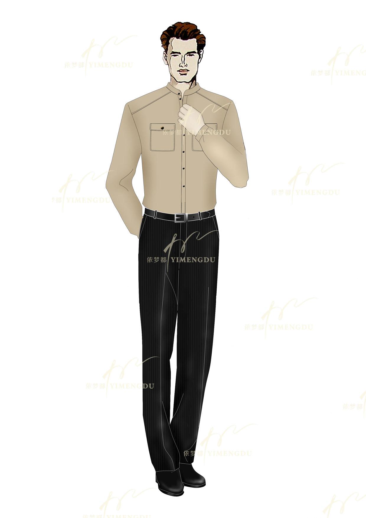 职业装-男衬衫
