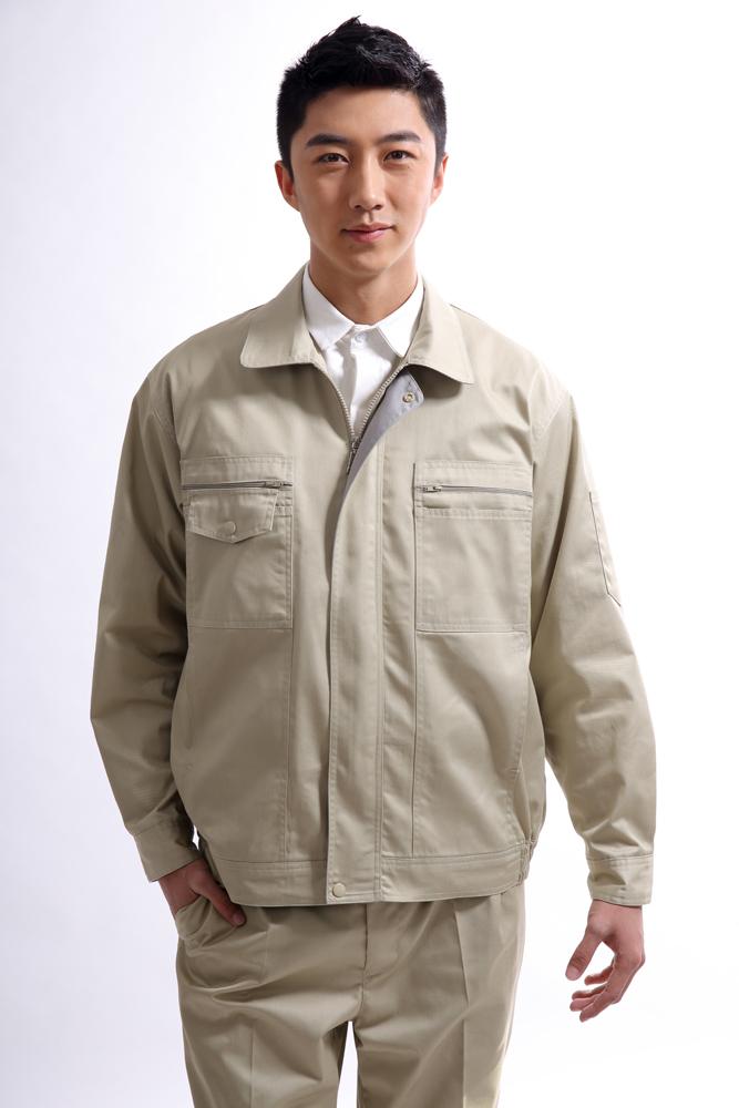 秋冬长袖耐磨劳保工作服,厂服SY012